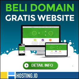 Beli domain apapun dapat website gratis