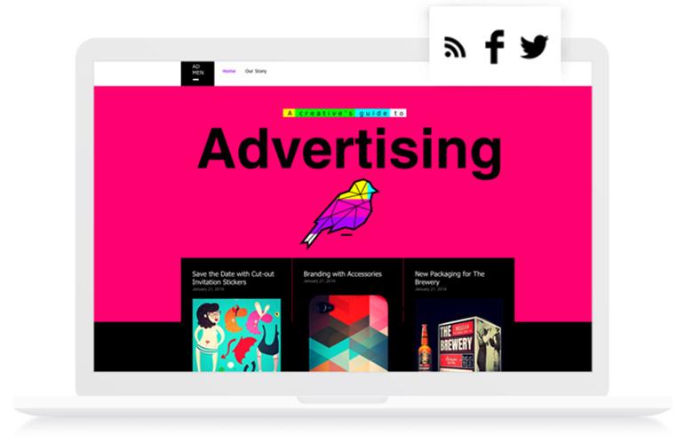 Cara membangung website - RSS Feed