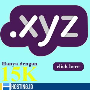 Promo domain .XYZ