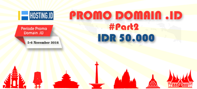 Part 2 Promo domain .id dan .co.id