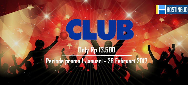 Promo Domain Club HostingID - Home Banner
