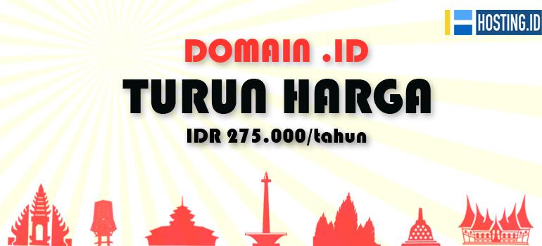 Domain .ID Turun Harga
