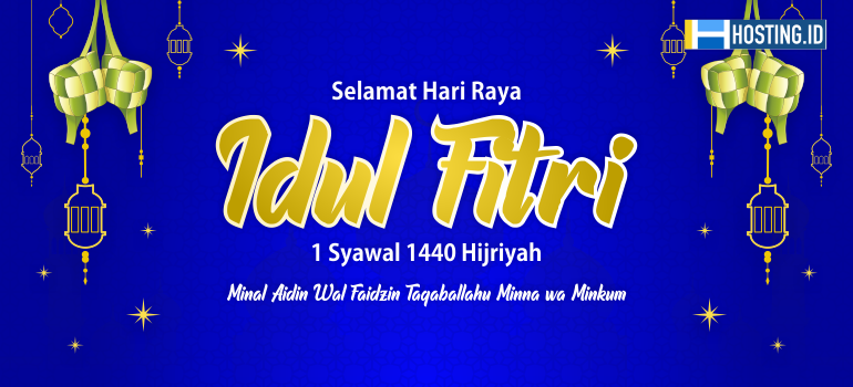 ucapan idul fitri hosting.id - 770x350